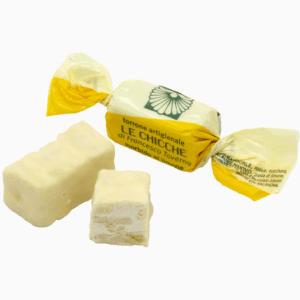 Torroncino morbido limone ricoperto di cioccolato