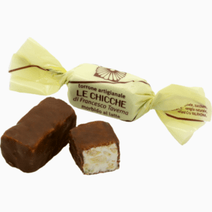 Torroncino morbido latte ricoperto di cioccolato