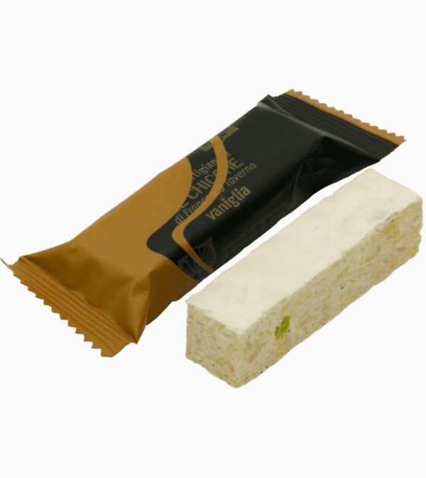 Torrone tradizionale friabile vaniglia all'ostia
