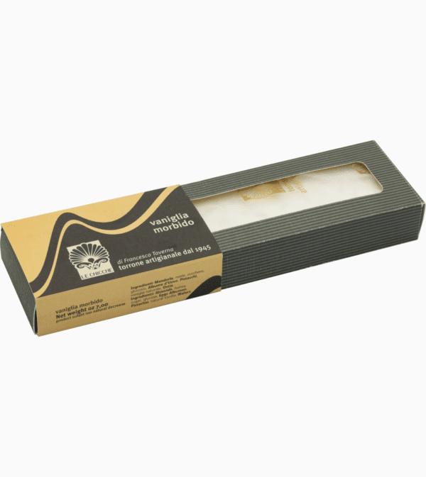 Barra di torrone morbido vaniglia all'ostia