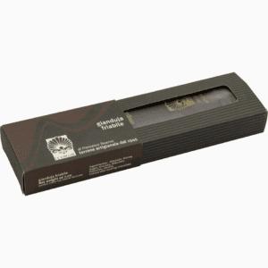 Barra di torrone friabile gianduia ricoperto di cioccolato
