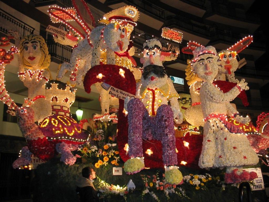 Carnevale di Acireale - Carro Infiorato 2005