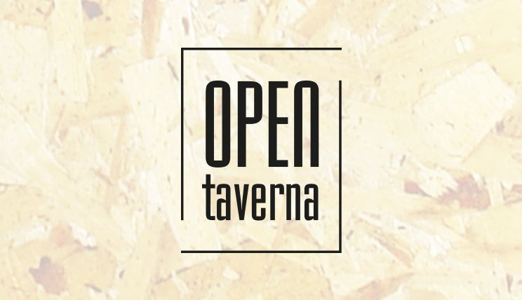 Open Taverna - Logo con sfondo