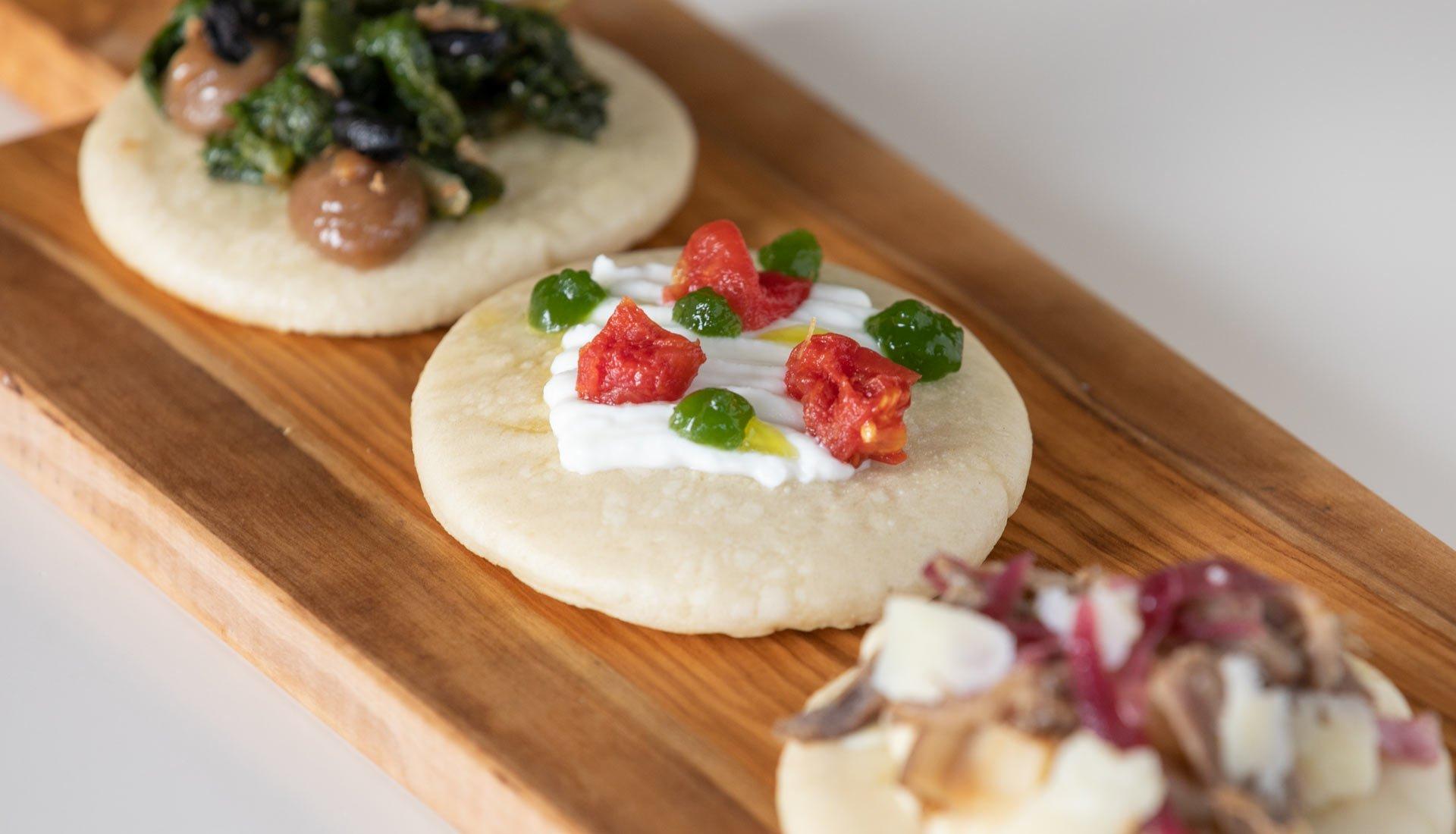 Pizzette al Vapore - Open Taverna